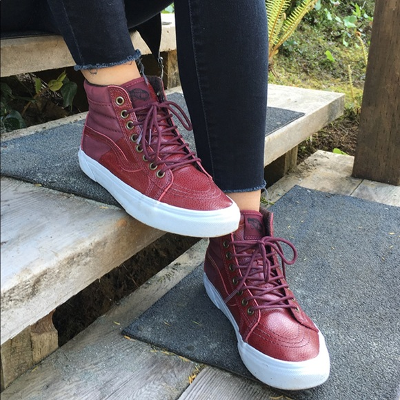VANS Sk8-Hi 46 MTE Pebble Leather Port Royale 432c79dc5